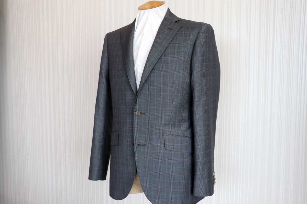 【ゼニア・トラベラー】珍しいグリーンのチェック柄スーツをご紹介!