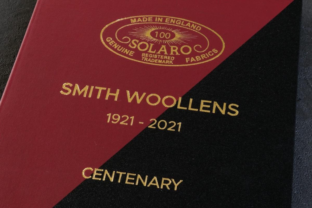ソラーロの生みの親【SMITH WOOLLENS】100周年のスペシャルコレクション