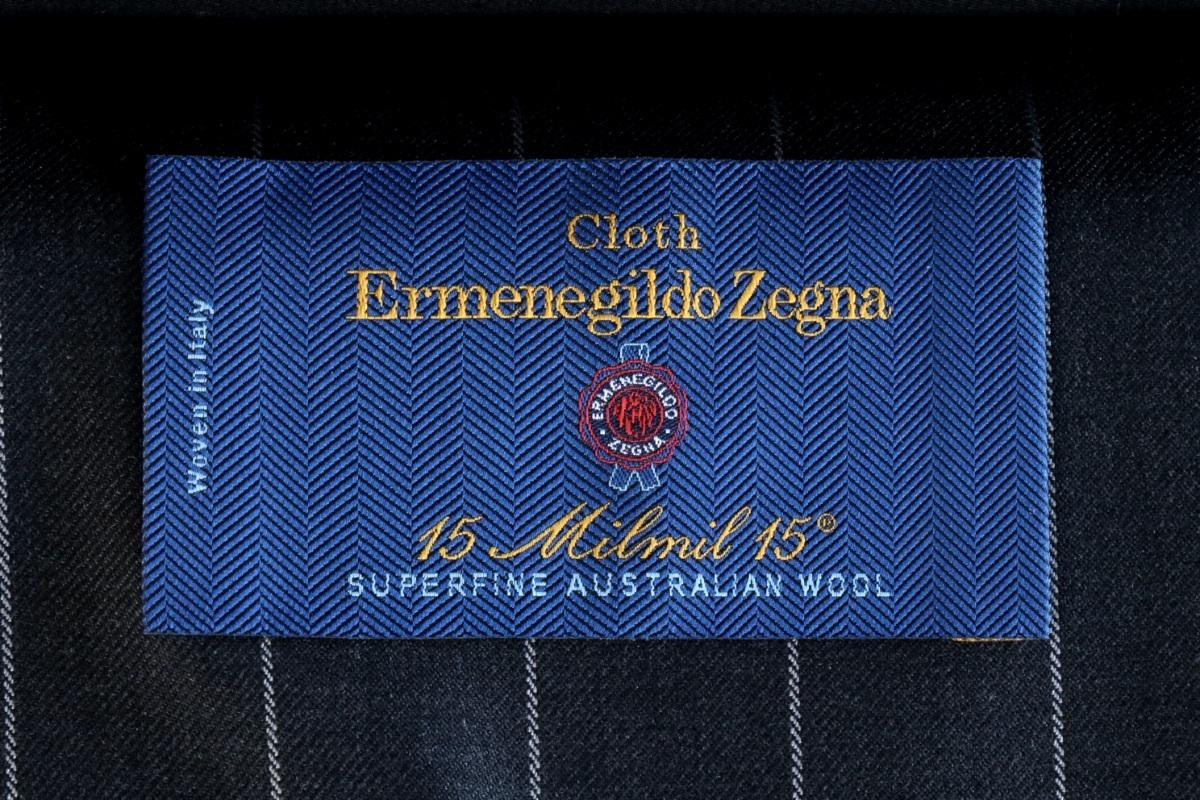 紳士服地の最高峰「ERMENEGILDO ZEGNA 15milmil15(エルメネジルドゼニア 15ミルミル15)」