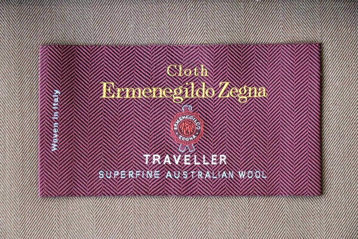 紳士服地の最高峰「ERMENEGILDO ZEGNA TRAVELLER(エルメネジルドゼニア トラベラー )」