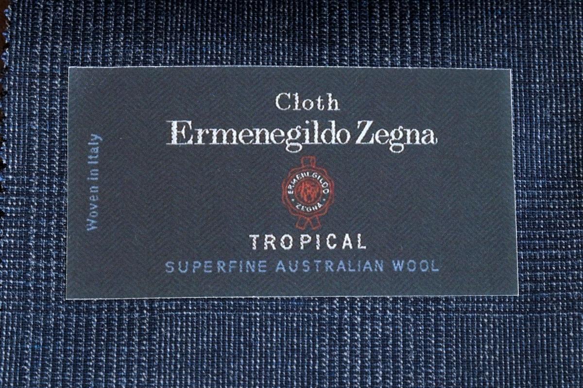紳士服地の最高峰「ERMENEGILDO ZEGNA TROPICAL(エルメネジルドゼニア トロピカル)」