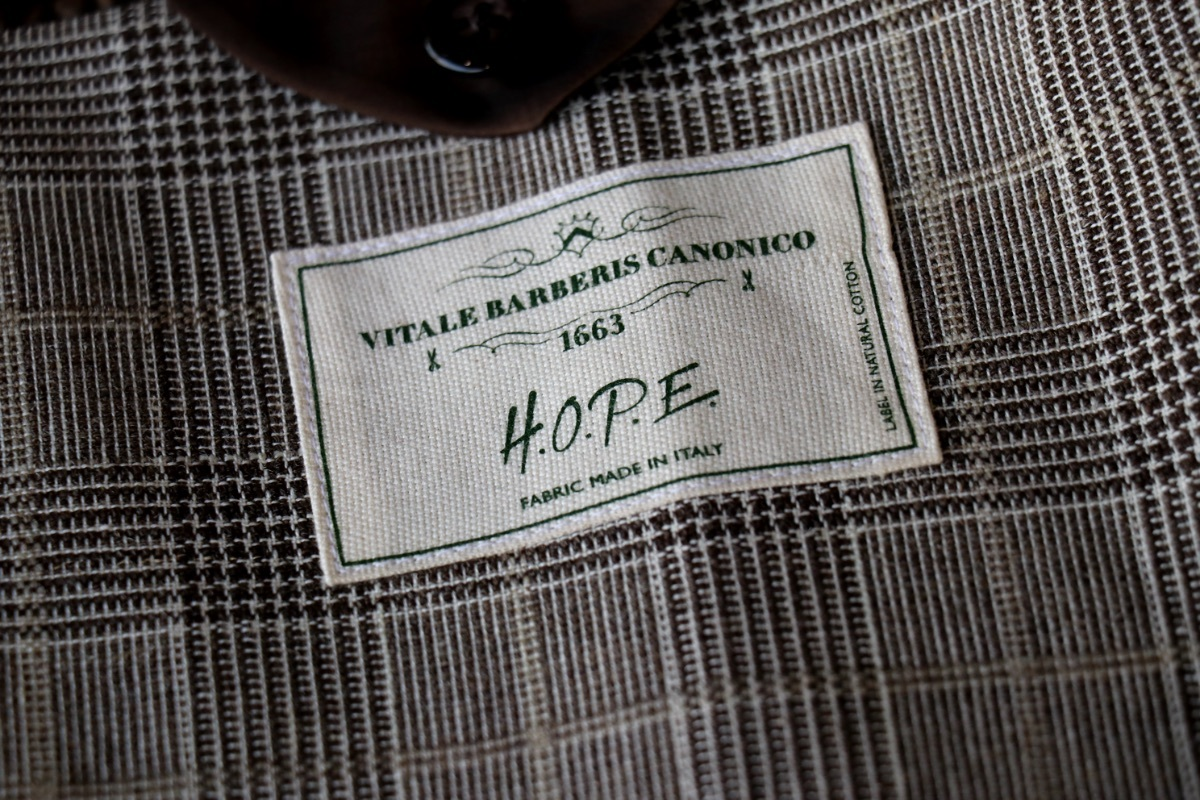 店主のサステナブルなジャケット「H.O.P.E」が完成
