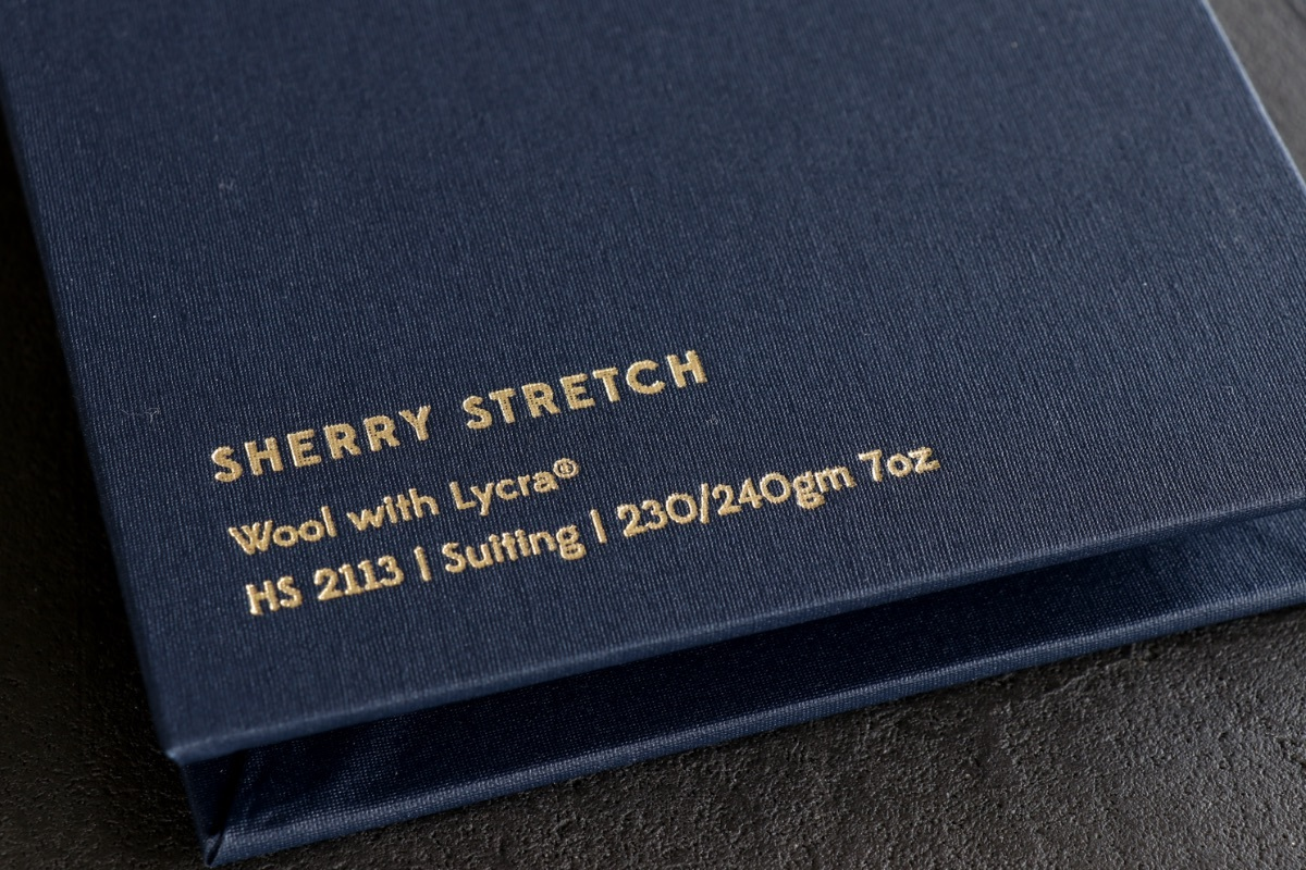 イギリスの高級服地ブランド「Holland&Sherry SHERRY STRETCH (ホーランド&シェリー シェリーストレッチ)」